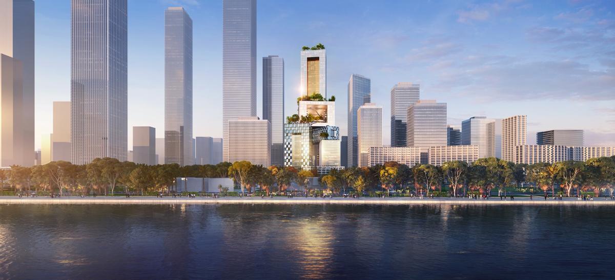 Vanke Headquarter Toweris expected to begin constructionin mid-2019