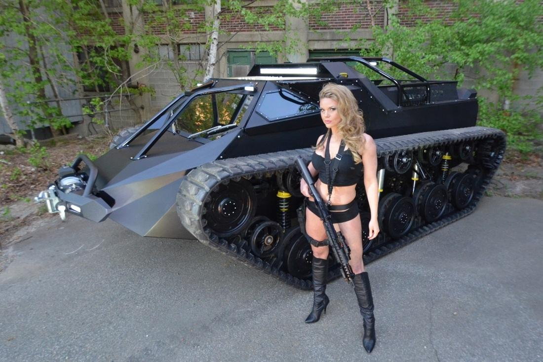 "The Ripsaw EV2 is described as a ""high-end luxury super tank"""