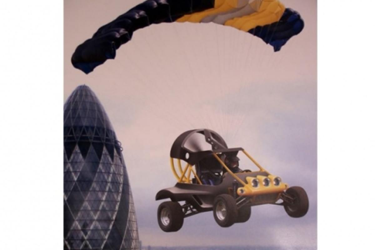 Britain's Parajet Skycar