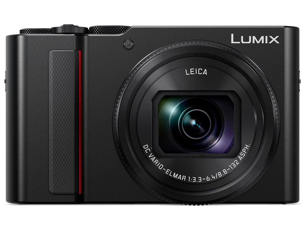 The Lumix DMC-ZS200 travel zoom's 1-inch MOS sensor is paired with Panasonic's Venus Engine image processor