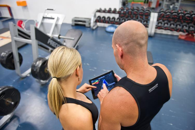 The Hexoskin system provides real-time body metrics monitoring