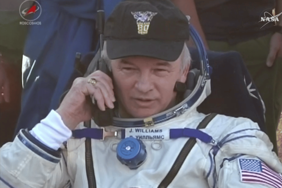 Colonel Jeff Williams has racked up 534 cumulative days in space
