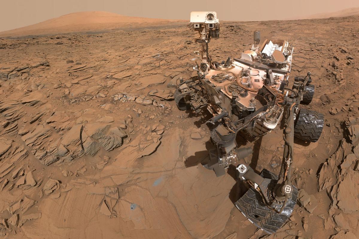 May 11, 2016self-portrait of NASA's Curiosity Mars rover
