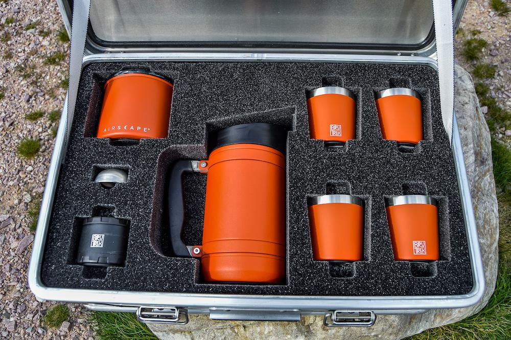 Planetary Design fits its kit together neatly with a custom foam insert