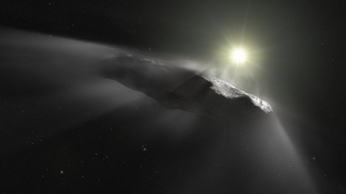 Comet Interceptor could also be used to visit interstellar objects like 'Oumuamua