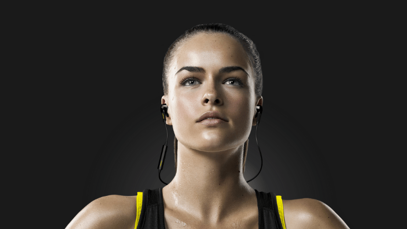 Jabra's Sport Pulse Wireless headphones have a built in heart-rate sensor, as well as a fitness tracking app
