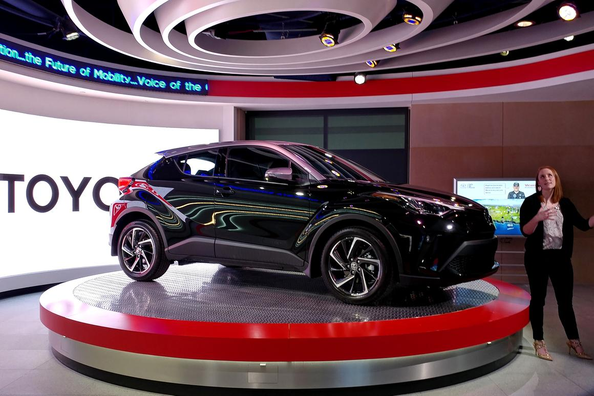 Toyota pulled the wraps off the new 2020 C-HR at a special event in Texas