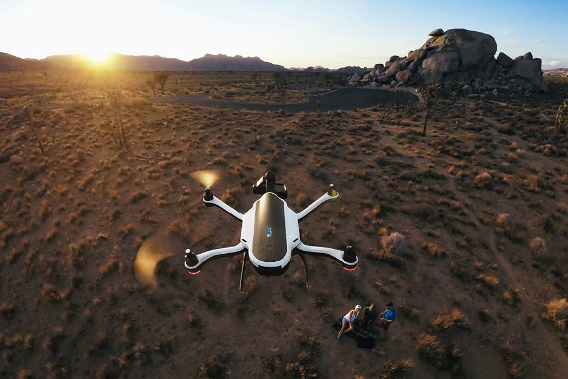 The GoPro Karma in action