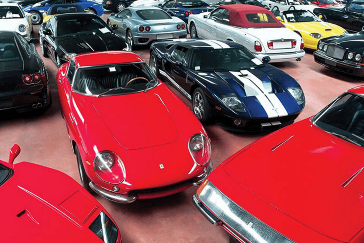 Luigi Compiano's collection will be the largest single automotive collection ever offered for auction in Europe