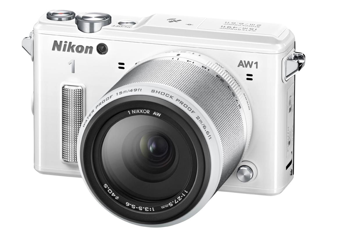 The Nikon 1 AW1 is the world's first digital compact system camera which is waterproof, shockproof and freezeproof