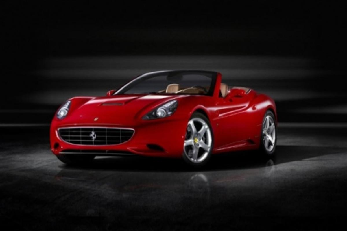 The new Ferrari California