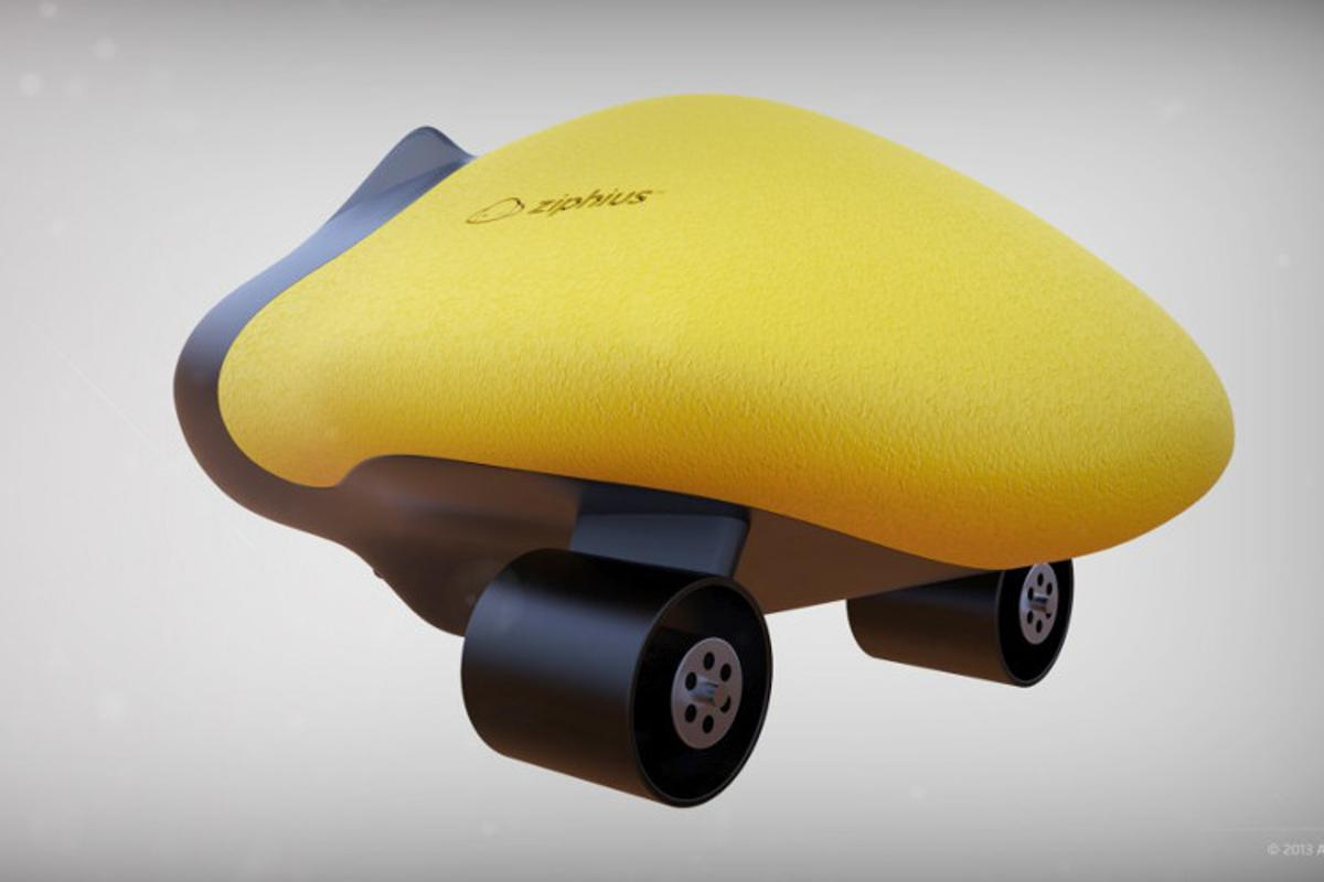 The Ziphius is a remote-control aquatic drone, that's capable of autonomous behavior