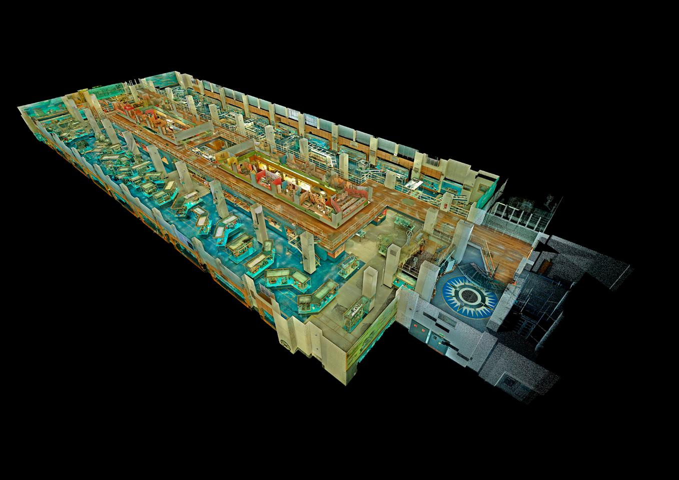Two billion measurements were used to create the virtual gallery (Image: ScanLAB Projects Ltd)