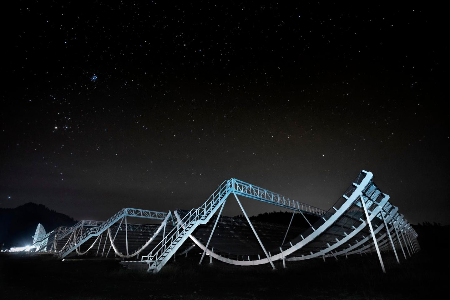The revolutionary radio telescope CHIME has now detected 13 new fast radio burst signals, including a repeating one