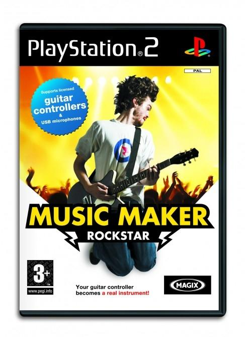 MAGIX Music Maker RockStar for PS2