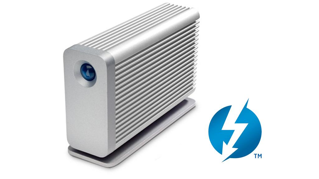LaCie's Little Big Disk with Thunderbolt technology