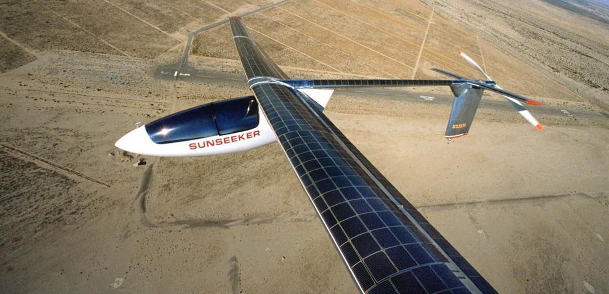 The Sunseeker uses an alternative energy source