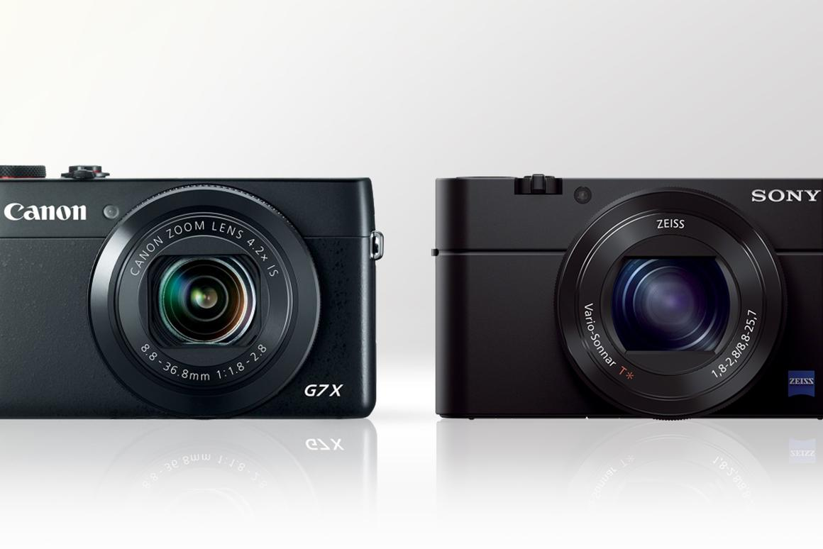 Gizmag compares the features and specs of the Canon Powershot G7 X and Sony Cyber-shot RX100 III