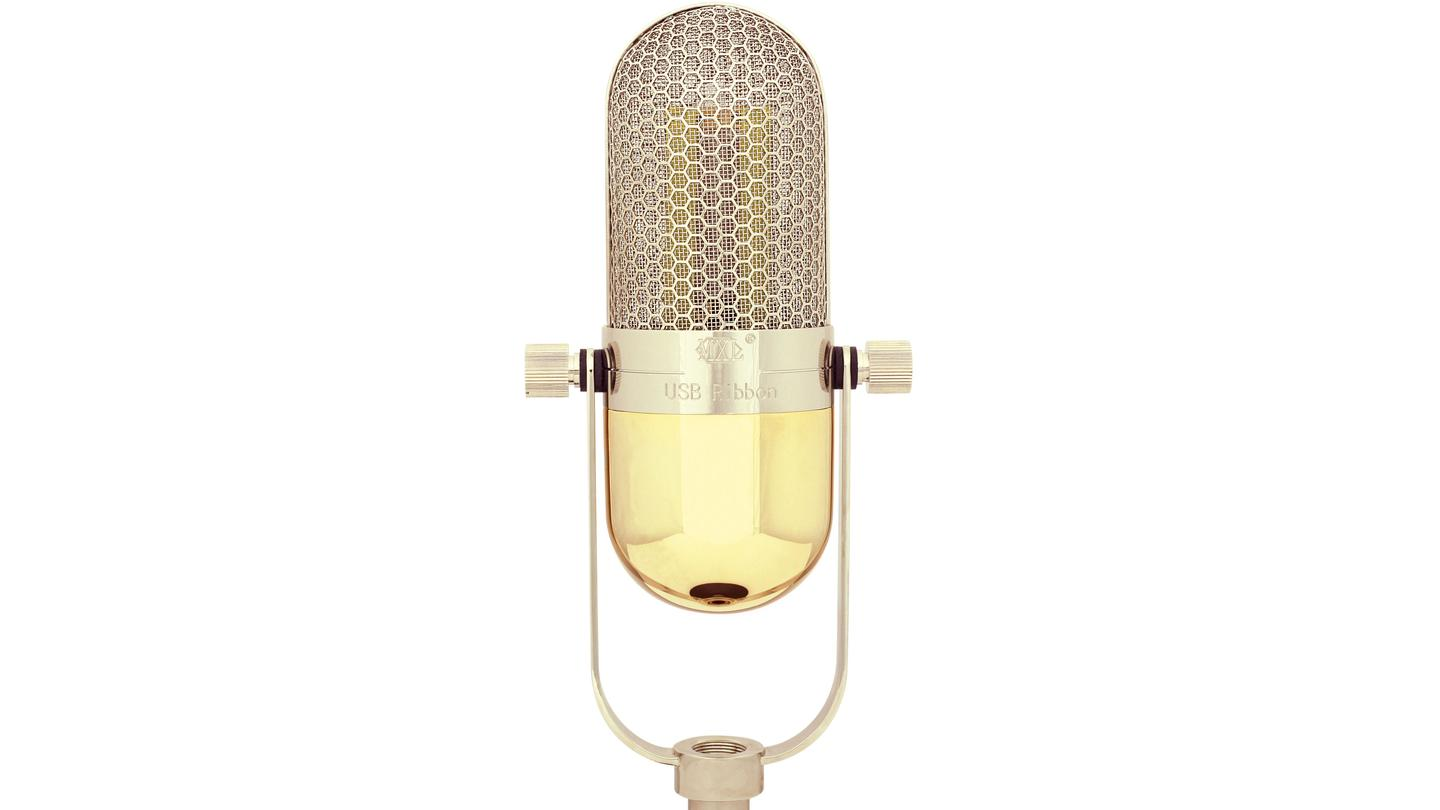 Merging new technology with vintage audio - the world's first USB ribbon microphone from MXL