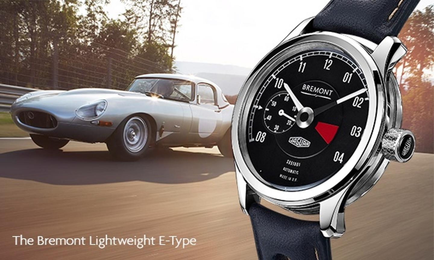 Only six of the Lightweight E-Type watches will be built – one for each car