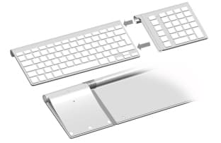 The LMP Bluetooth Keypad and Apple Wireless Keyboard - a match made in heaven