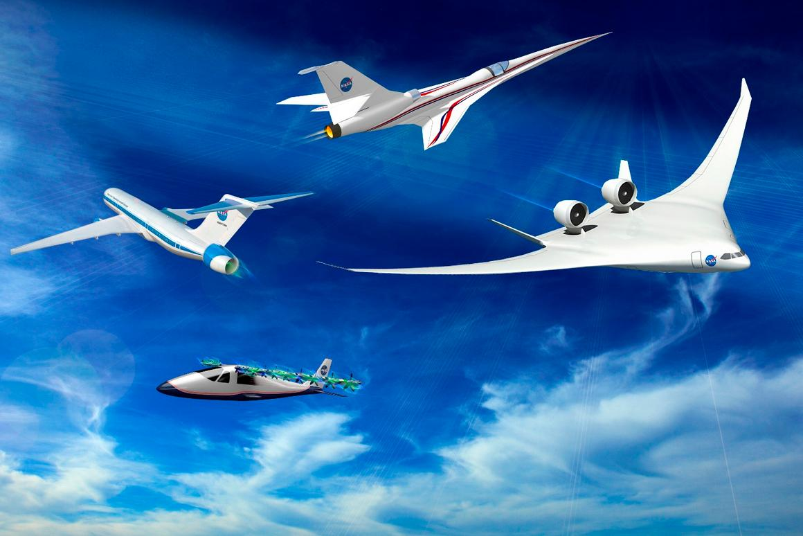 NASA wants to revive the X-plane program to test new technologies