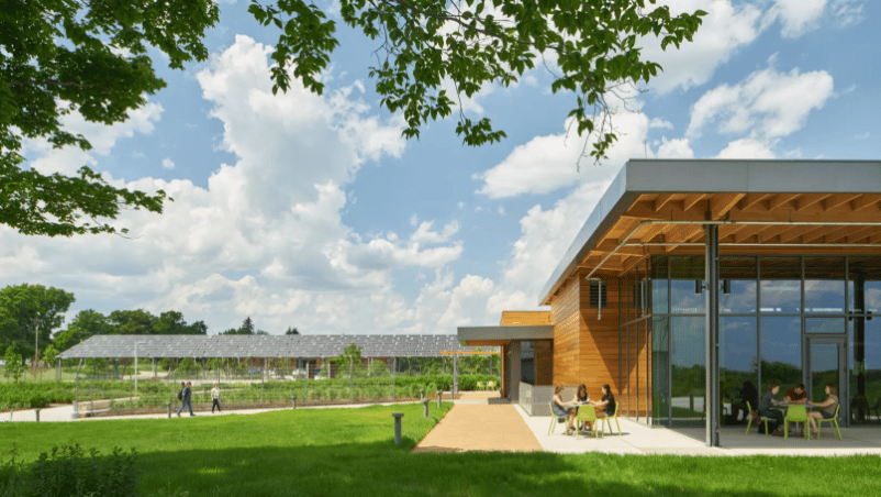 Award of Excellence in the AIA's2018 Education Facility Design Awards:Chatham University Eden Hall Campus, byMithun
