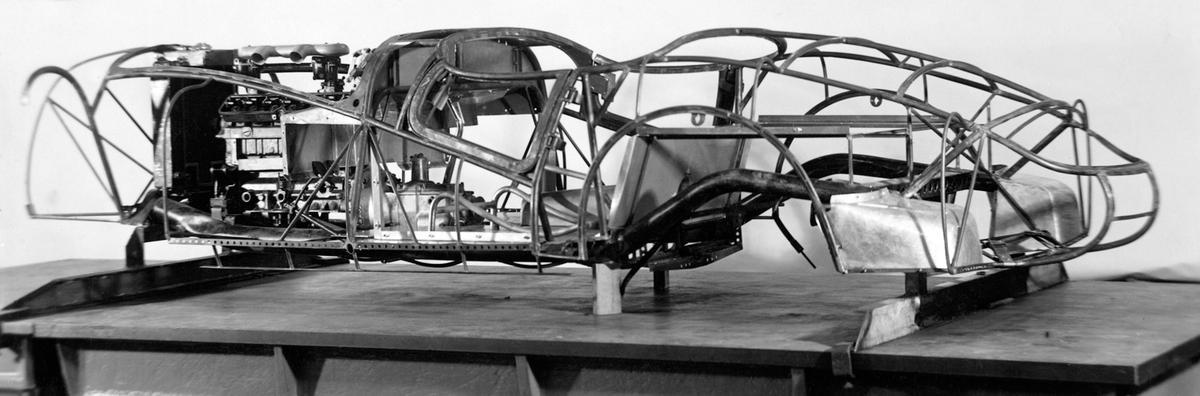 The 1937 BMW 328 MM 'Buegelfalte' sans bodywork