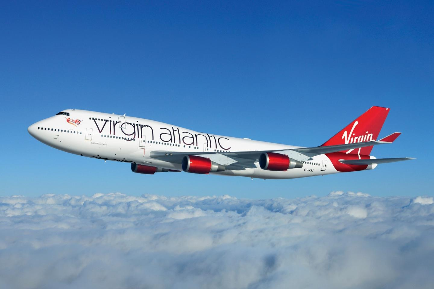 The fuel was used in a 747 flying from Floridato London