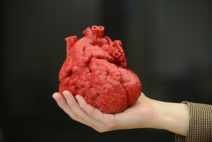 A 3D printed model of a baby's heart helped doctors to better plan for the life-saving surgery