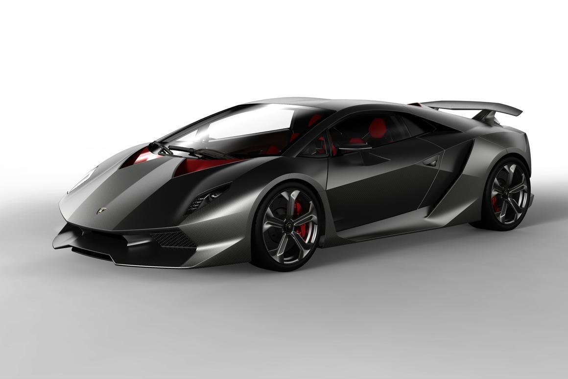 The carbon-fiber-heavy - or rather, light - Lamborghini Sesto Elemento