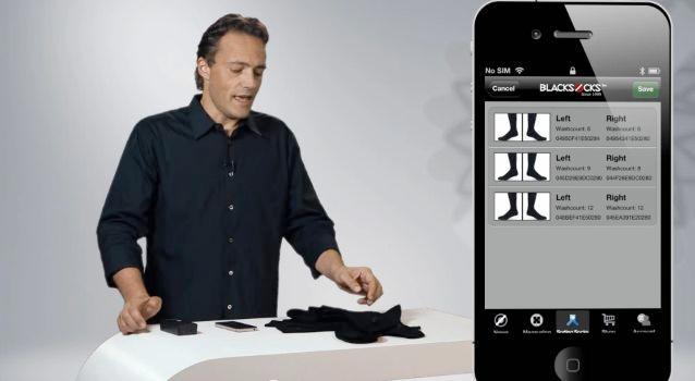 BLACKSOCKS founder Samy Liechti, extolling the virtues of Smarter Socks