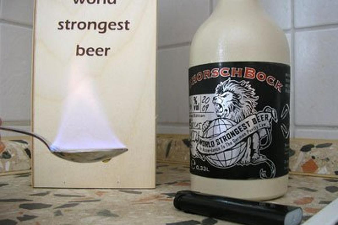 Extreme Beer Mans Favourite Drink Suddenly Gets Much Stronger