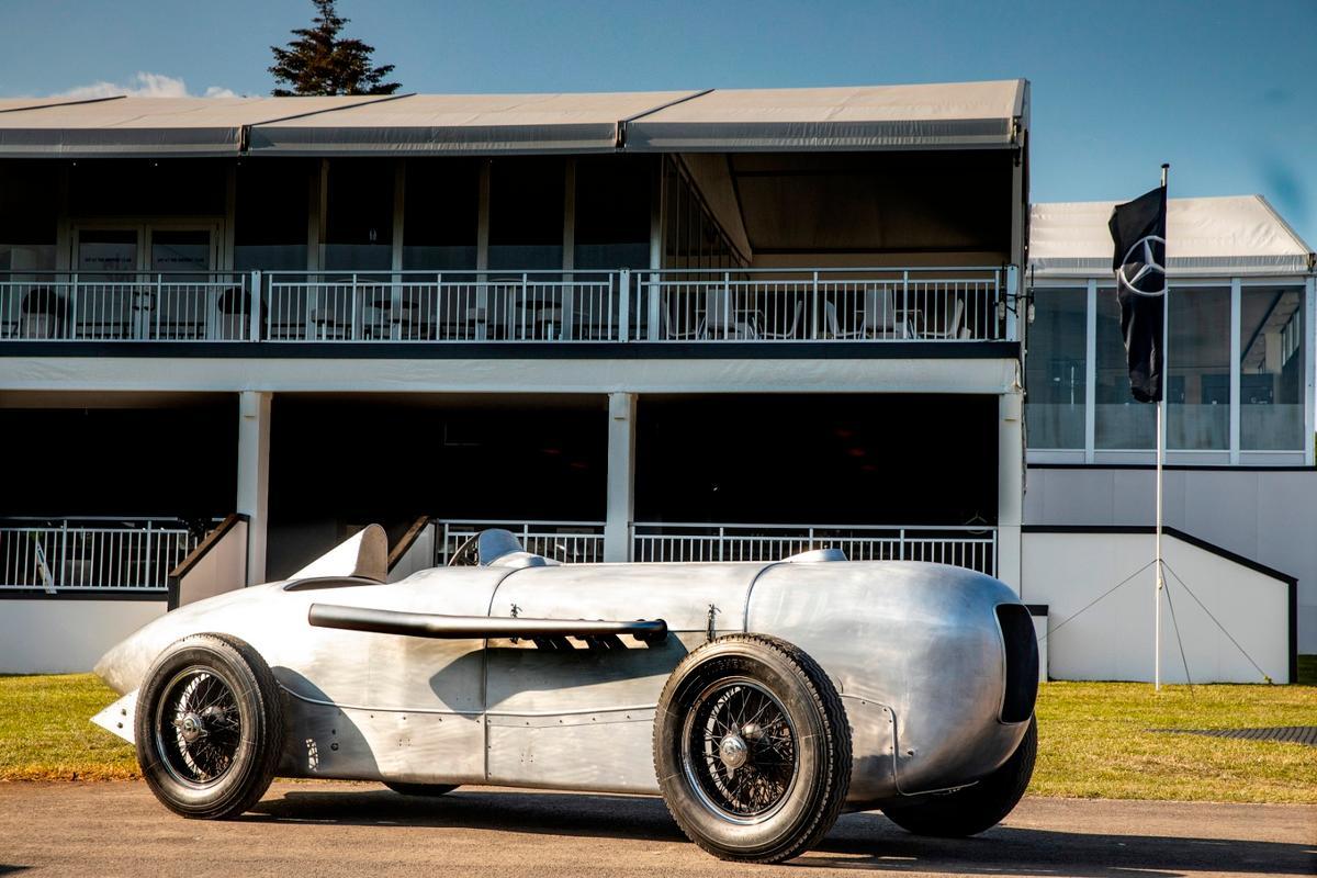 On 22 May 1932, Manfred von Brauchitsch won the Avus race in Berlin in a Mercedes-Benz SSKL