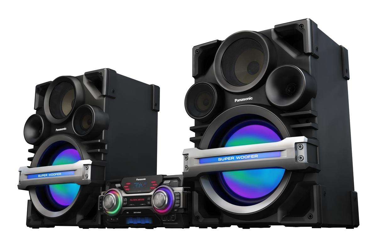 Panasonic's SC-MAX650 Extra-Large Audio System