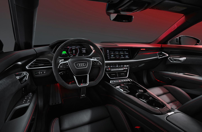 A look inside Audi's e-tron GT