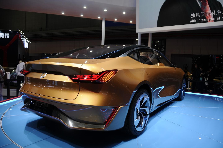 The Grove concept car at Auto Shanghai 2019