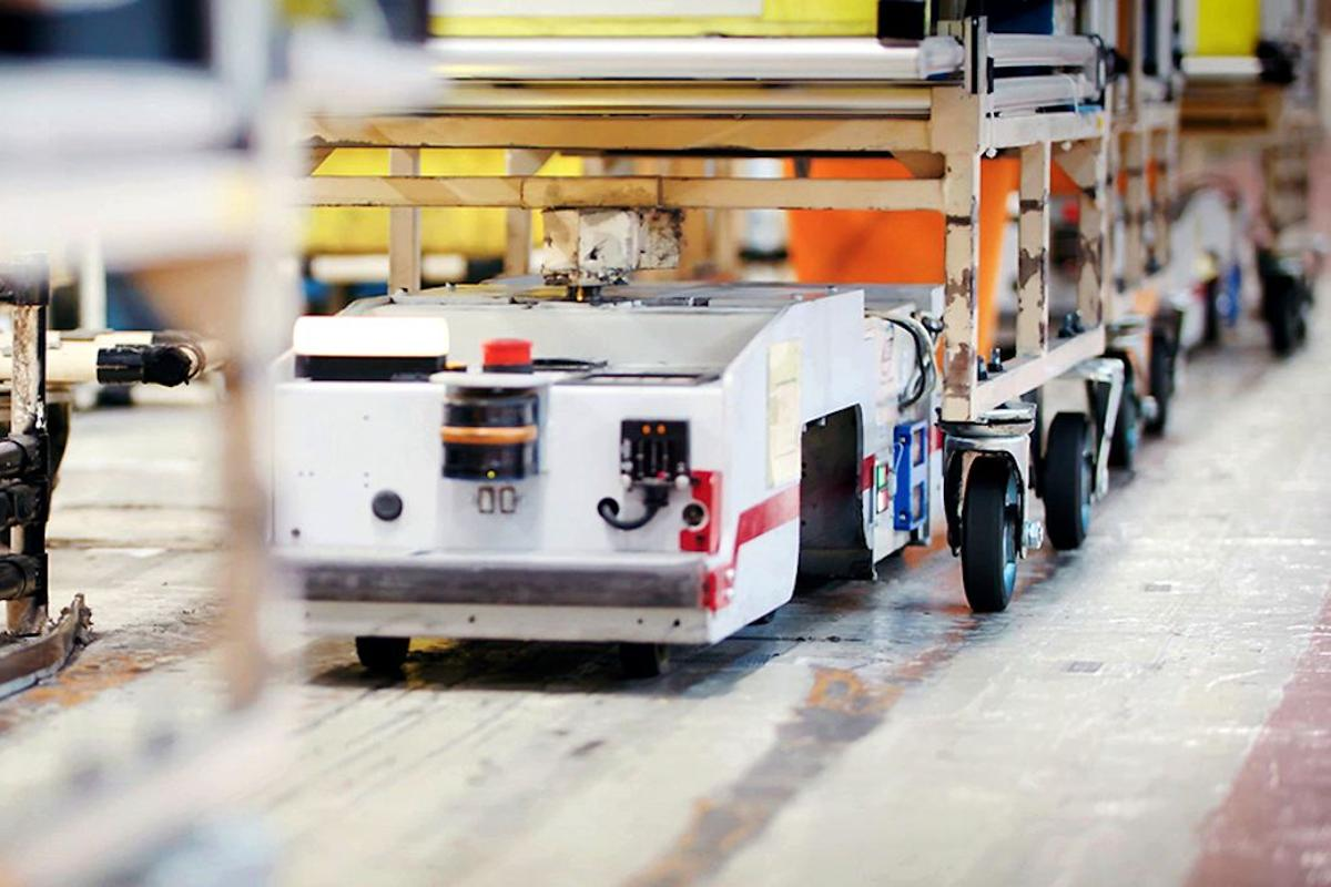 Nissan has announced that the automated guided vehicles used to deliver components to works at its car plants are now powered by second-life batteries from the first generation Leaf electric car