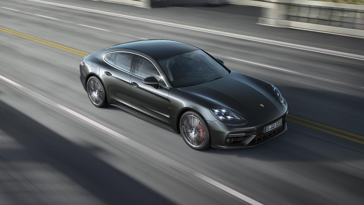 Porsche used inspiration from the 911 to create a more coupe-like Panamera