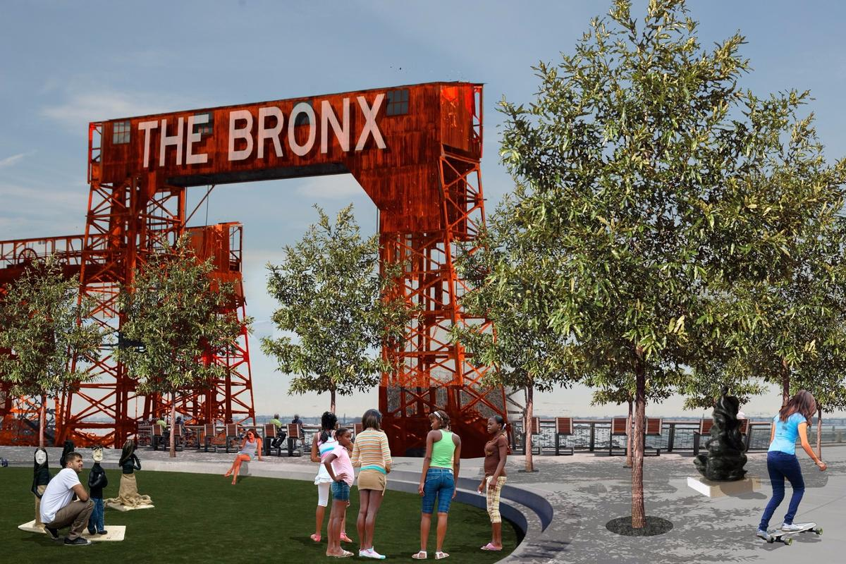 The Haven Project will see the introduction of a new network of connected open spaces in the South Bronx