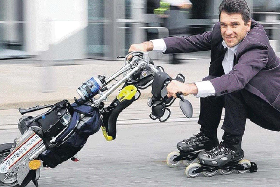 The FlyRad motorized electric unicycle