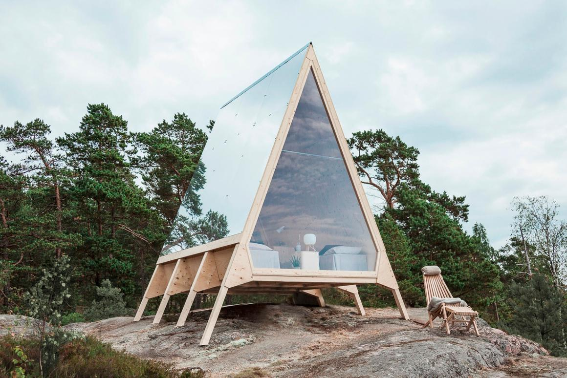 Nolla cabin: a Finnish dream of sustainable, low-waste living perched on an island outside Helsinki