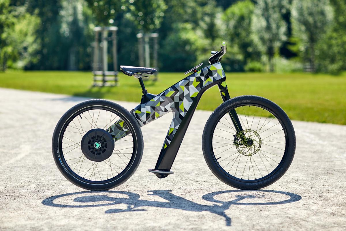Skoda's Klement concept e-bike adds a bizarre form of foot control to a vehicle that currently fits no legal category in most places