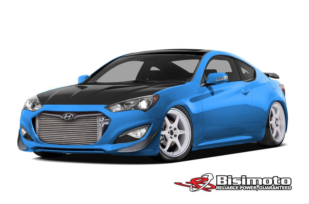 Bisimoto's 1,000-hp Hyundai Genesis Coupe