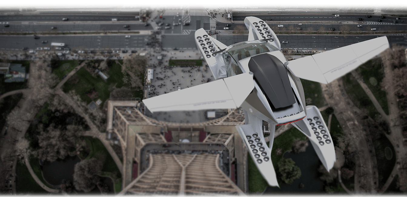 Hoversurf's Project Forumla:vertical commuting for 4