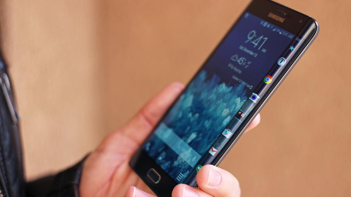 Gizmag reviews Samsung's curved variant of the Note 4, the Galaxy Note Edge (Photo: Will Shanklin/Gizmag.com)