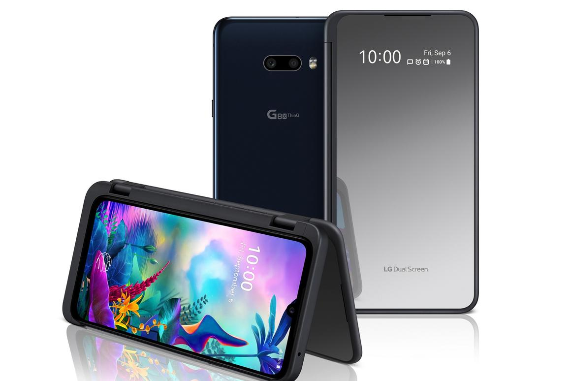 Dual screen LG G8X ThinQ is a folding phone alternative