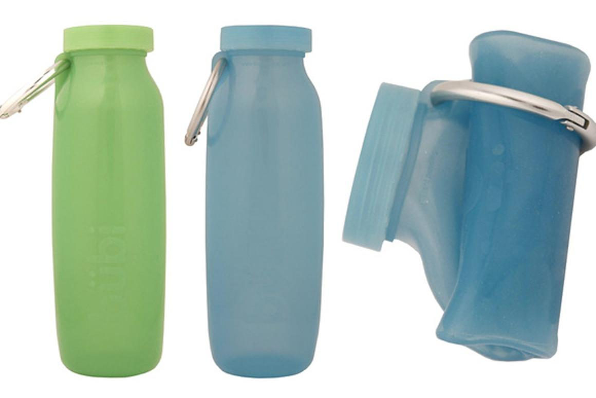 The Bübi Bottle can be scrunched for storage and unscrunched when in use