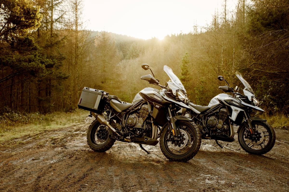 Triumph has expanded the Tiger 1200 adventure bike range with new Alpine and Desert special editions