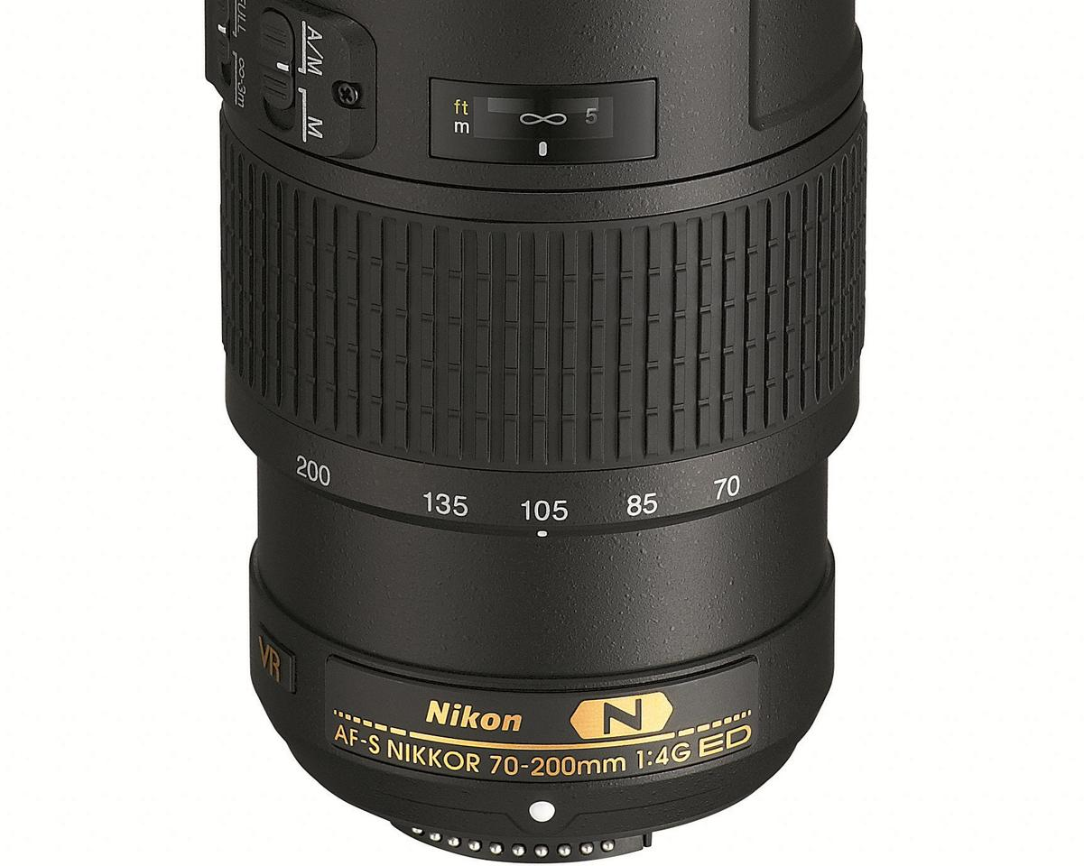 The Nikon 70-200mm f/4G ED VR is the debut for the third generation of Nikon's Vibration Reduction (VR) technology